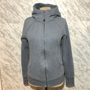 Lululemon Scuba Hoodie Grey Size 6